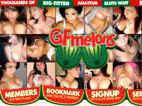 GF Melons .com - Hot amateur babes with big tits at GF Melons!