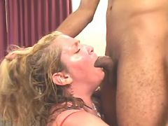 Chubby mature spoils amateur guy