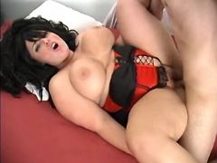 Busty beautiful fatty fucked by man
