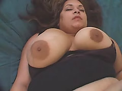 Tremendous fat ebony sexing w dude
